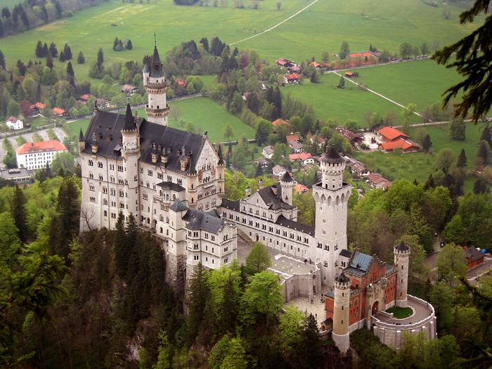 Úchvatný zámek Neuschwanstein