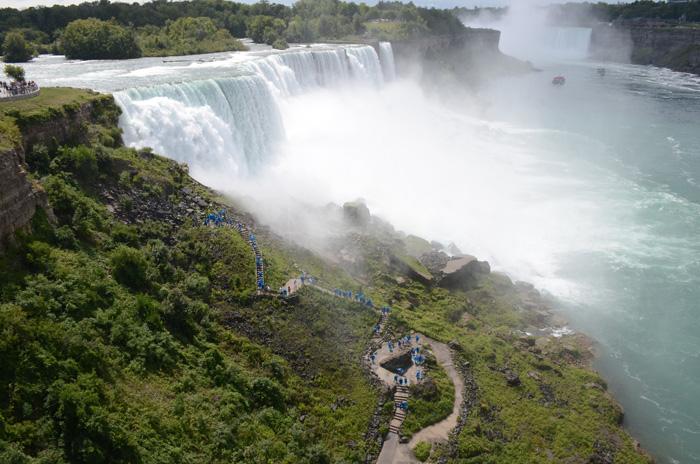 Nejslavnější Niagarské vodopády