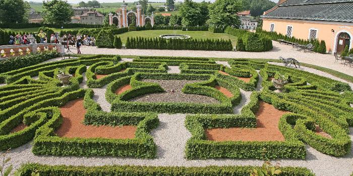 Nové Hrady francouzské zahrady