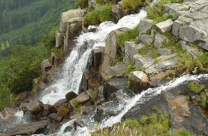 Nejvyšší český vodopád