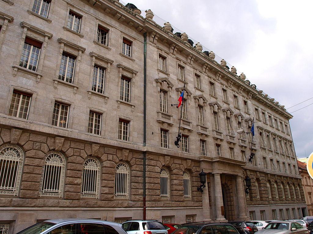 Petschkův palác sloužil jako sídlo gestapa