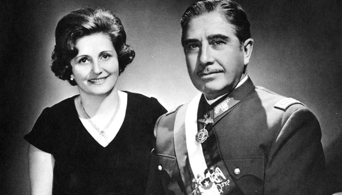 Chilský diktátor Pinochet