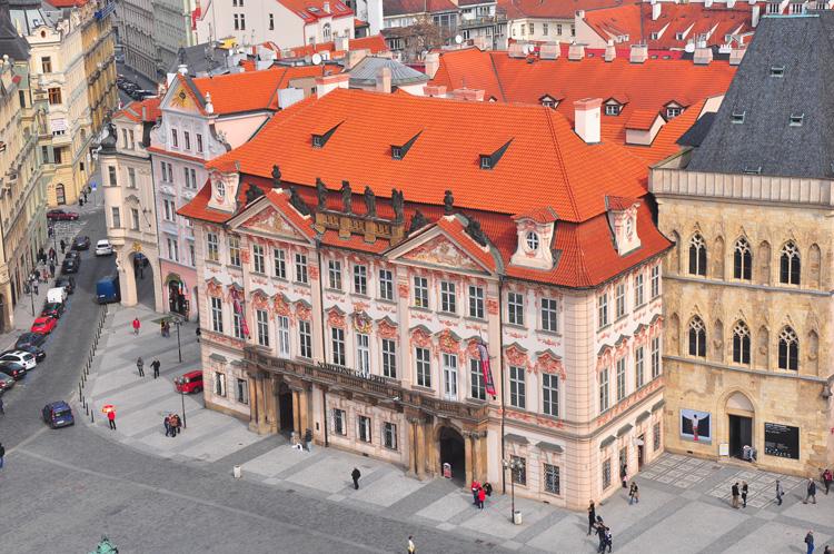 Pražský palác Kinských