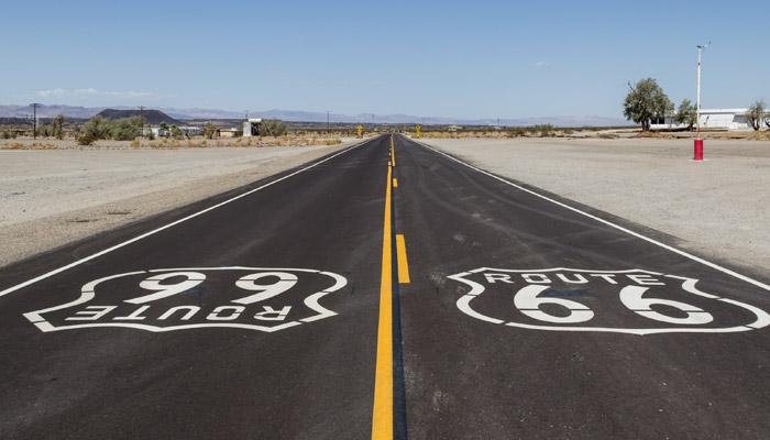 Bájná silnice Route 66
