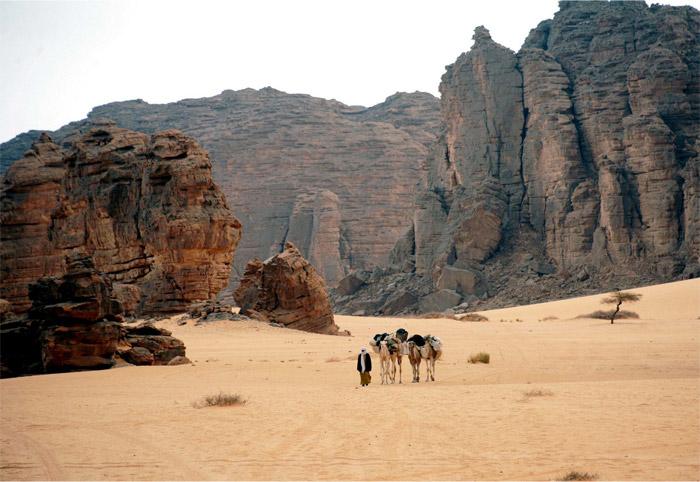 Sahara neznámá – prehistorické nástěnné malby v Tassili