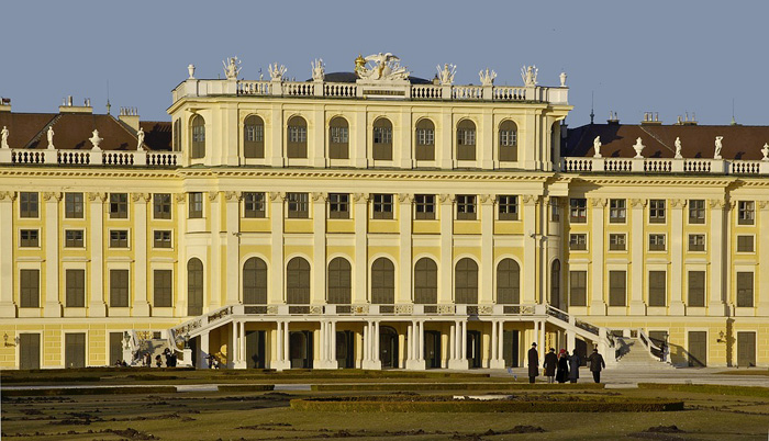 Vídeňský zámek Schönbrunn