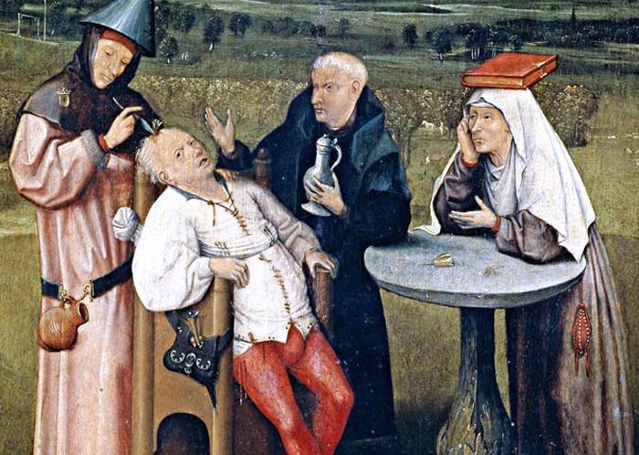 Šílené praktiky středověkého lékařství