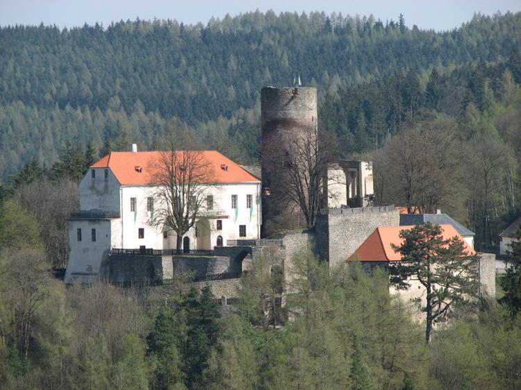 Tajemný hrad Svojanov u Svitav