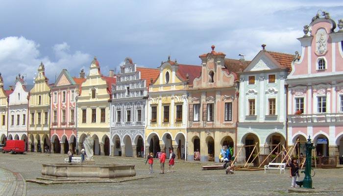 Historické jádro města Telč