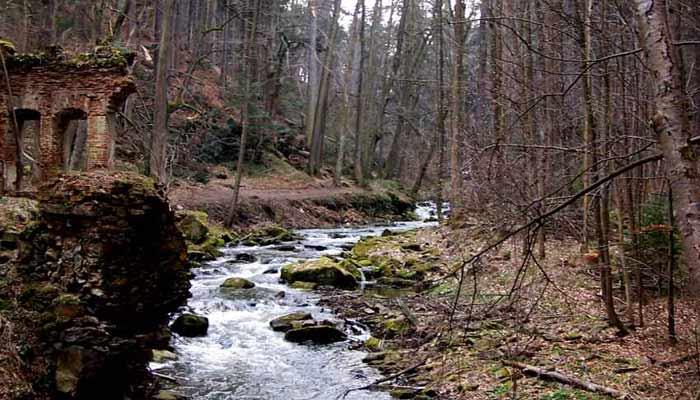 Romantické Terčino údolí