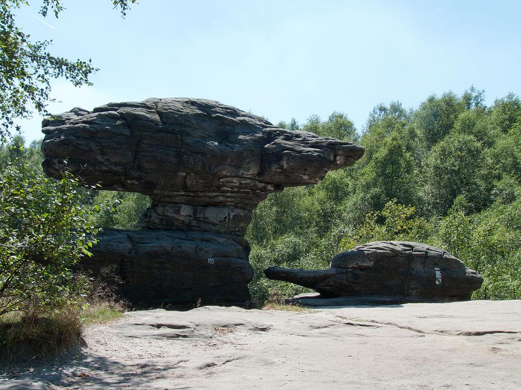 V tajuplných Tiských skalách prý řádí skřeti