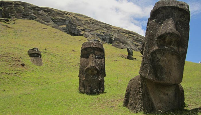 Velikonoční ostrovy moai