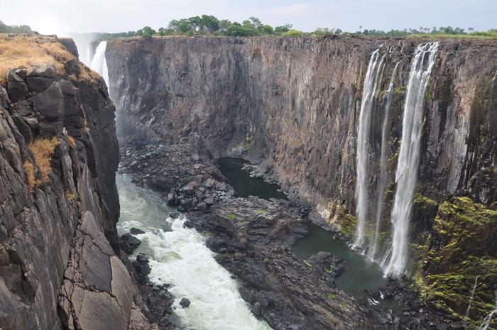 Africké Viktoriiny vodopády