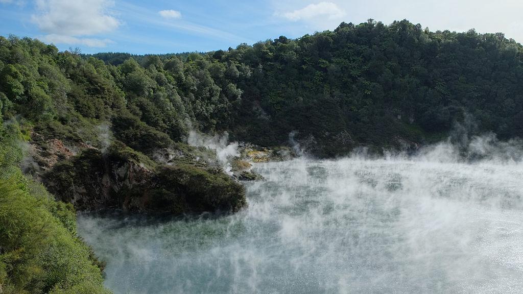 Vulkanické údolí Waimangu