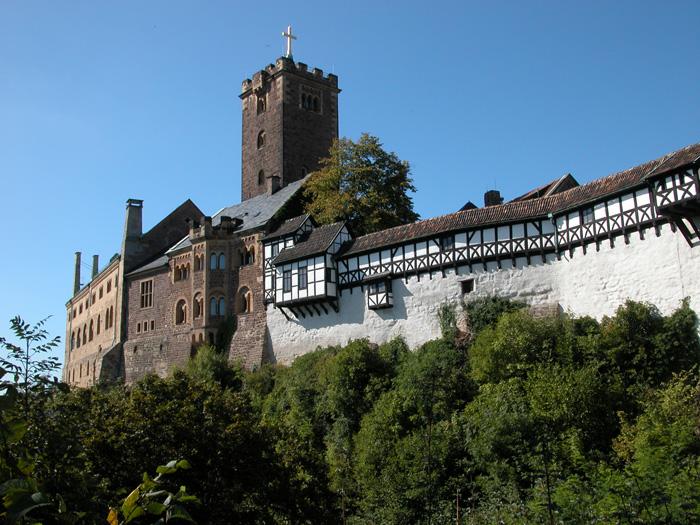 Německá památka UNESCO – hrad Wartburg