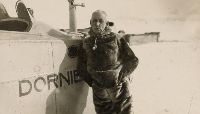 Tragická záchranná výprava Roalda Amundsena