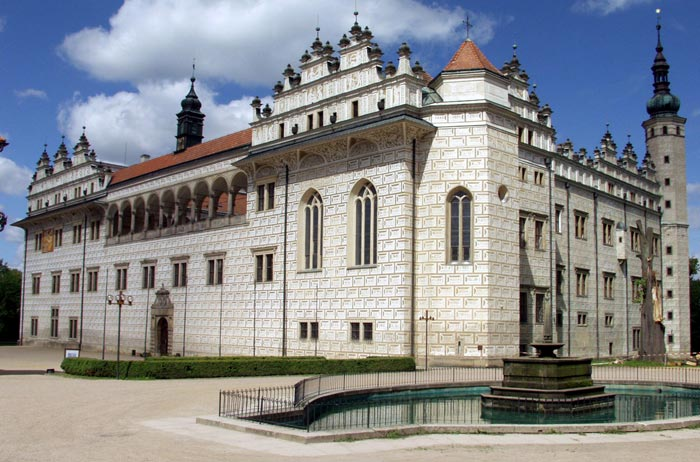 Památka UNESCO – zámek v Litomyšli