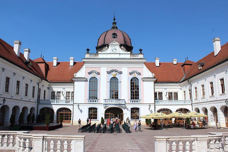 Zámek Gödöllő byl oblíbeným místem císařovny Sissi