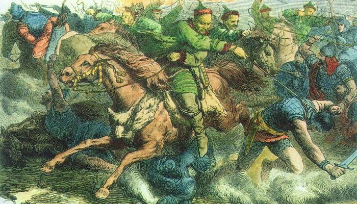 Zelenoocí Číňané – ztracená římská legie?