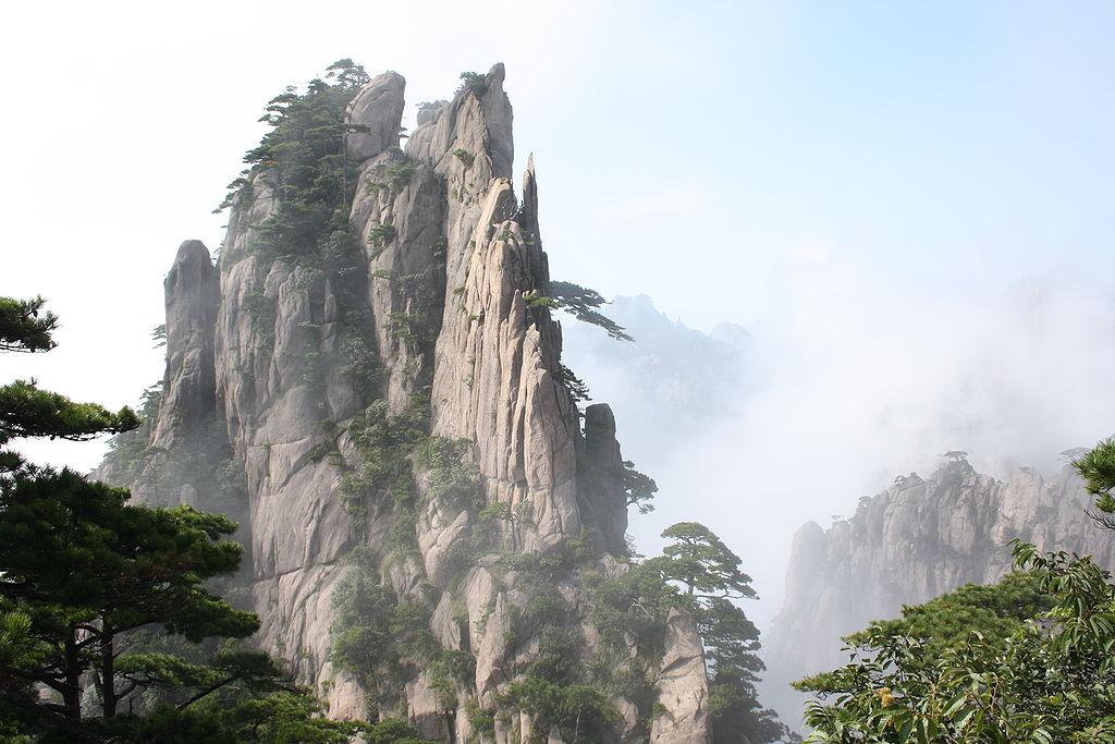 Chuang-šan - mystické Žluté hory